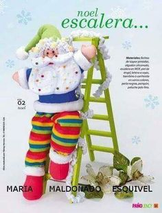 NIEVE ESCALERA Christmas Crafts, Christmas Ornaments, Diy Crafts, Holiday Decor, Children, Pattern, Type 3, Facebook, Photos