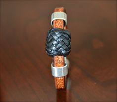 Bold Turk's Head Unisex bracelet makes a statement.  Handcrafted with pride. on Etsy, $80.00
