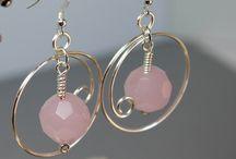 Gemstone Earrings / by Steven Becraft