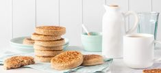 Wholemeal crumpets - So Good Australia Melt Method, Crumpets, Instant Yeast, Nutrition Information, Spice Things Up, Vegetarian Recipes, Yummy Food, Australia