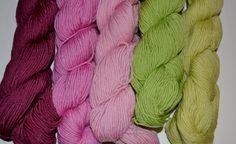 Sock Weight Yarn Lot Destash Green Pink Acrylic 9 by PanchosPorch Pink Acrylics, Sport Weight Yarn, So Creative, Craft Supplies, Socks, Knitting, Crochet, Green, Diy