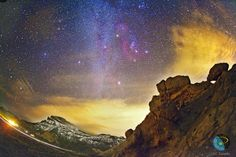 Deep Orion Over the Canary Islands