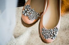 Vera Wang wedding shoes by Dina Chmut photography