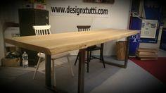 Tavolo rovere massello 1690 euro www.designxtutti.com