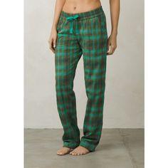 prAna Bridget Lined PJ Pant (37 CAD) ❤ liked on Polyvore featuring intimates, sleepwear, pajamas, cargo green, prana, flannel pj pants, flannel pyjamas, flannel pajamas and pj pants