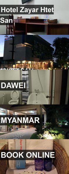 Hotel Hotel Zayar Htet San in Dawei, Myanmar. For more information, photos, reviews and best prices please follow the link. #Myanmar #Dawei #HotelZayarHtetSan #hotel #travel #vacation