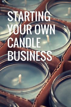candle making business Starting Your Own Candle Business Candle Making At Home, Candle Making Business, Soy Candle Making, Candle Making Supplies, Candle Making For Beginners, Beeswax Candles, Mason Jar Candles, Make Candles, Diy Candels