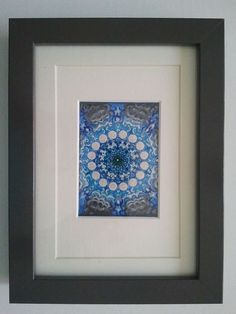 ARTFINDER: Kaleidoscope, miniature, ACEO by Ria Janta-Cooper - As a child I was absorbed and fascinated by every kaleidoscope I could put my hands on. The fascination is still there, and this is why I have painted my own...