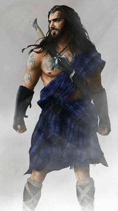 Thorin in a kilt? All men should at least try to rock a kilt. Tolkien, Celtic Warriors, Female Warriors, O Hobbit, Thorin Oakenshield, Men In Kilts, Braveheart, Fantasy Warrior, Celtic Fantasy Art