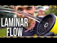 Make a diy laminar flow water nozzle by the King of Random.