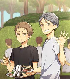 Sugawara & Yaku | Haikyuu!!