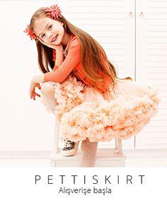 Perapie Dreamy Powder Pettiskirt- Kız Çocuk Giyim ve Aksesuar