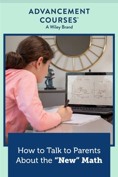 """Having trouble explaining """"new"""" math to parents? In this list from a former principal, discover some key explanations that can help families better understand and support their children. #newmath #teachingnewmath #math #mathteacher #parentteacherrelationship #mathclassroom Math Teacher, Math Classroom, Teacher Resources, Project Based Learning, Student Learning, Thinking Skills, Critical Thinking, Math Literature, Types Of Learners"""