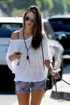 Alessandra Ambrosio Street Style & More Details