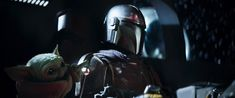 In The Mandalorian Episode 3 Mando gives baby yoda the top of the lever after previously taking it away. This is a metaphor to the fact that dads hate dogs until they own one. Multimedia, Starwars, Jon Favreau, Walt Disney Records, Disney Plus, Chapter 3, Mandalorian, Episode 3, Clone Wars