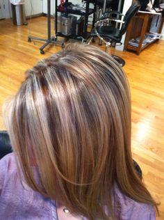 Putting Lowlights in Blonde Hair | The Lowdown On Lowlights