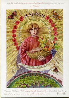 The Goddess and the Green Man | Festivals And Sabbats | Goddess Wheel Of The Year Lammas
