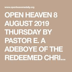 22 Best open heavens daily devotional images in 2017 | Daily
