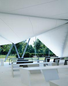 Serpentine Gallery Pavilion 2000 by Zaha Hadid | Serpentine Galleries