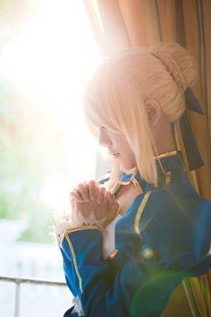 Saber | Fate/Stay Night #cosplay #anime #manga