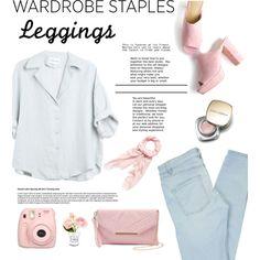 wardrobe staples : leggings by iconsoffashion on Polyvore featuring Marc by Marc Jacobs, Yoki, Blumarine, Dolce&Gabbana, Fujifilm and Chanel