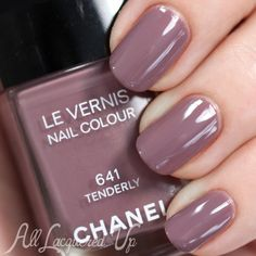 Chanel Tenderly swatch - Spring 2015