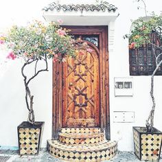 Door in Tangier, Mor