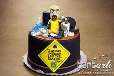 Breaking Bad Cake by www.tartarte.com