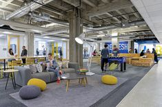 San Francisco Student Lounge – Stafford House International – San Francisco, CA … – Office lounge Office Space Design, Modern Office Design, Office Interior Design, Home Interior, Modern Offices, Student Lounge, Office Lounge, Lounge Design, Corporate Interiors