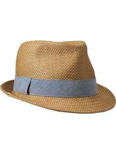 Men's Straw Fedoras Product Image