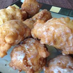 Homemade Apple Fritters have an enticing aroma when cooking and once you bite in, you will say Yum!