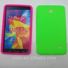 7 inch silicone case for samsung galaxy tab 4   1.soft environmental silicone   2.many colors  3.waterproof Protective case