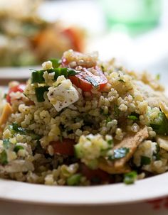 Tabbouleh Salad Recipe, mouth watering! and good photography
