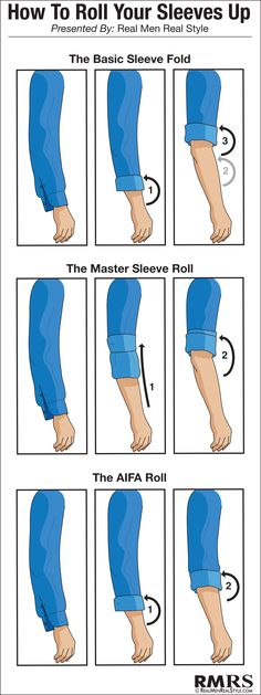 How to Roll your Sleeves Up