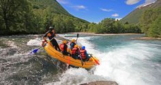 Rafting i Valldal, Norway