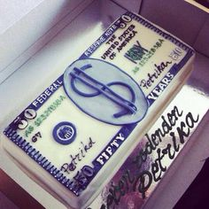 Birthday Cake For 17 Year Old Boy He Wanted Money All Around His