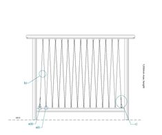 Stainless Steel Wire Handrail