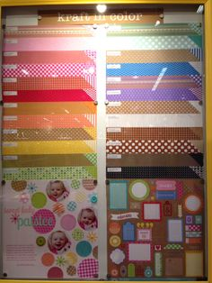 Doodlebug Design Craft in Color Collection NEW CHA Winter 2014 - Scrapbook.com