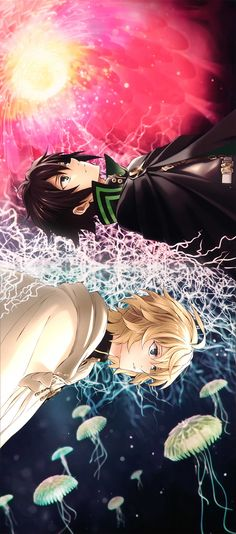 Mikaela Hyakuya and Yuichirou Hyakuya - Owari no Seraph - Seraph of the End