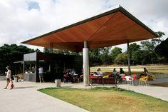 Sydney Park amenities   ArchitectureAU