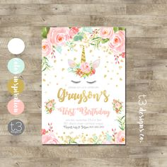 "Welcome to T3 Designs Co.    ***PURCHASE PROCESS:*** —>Select professionally printed invite quantity OR digital file from the ""TYPE"" menu on the invite or add-on listing —>Select Size (4x6 or 5x7) of invite or add-on —>Place order and include all wording changes and color changes in the"