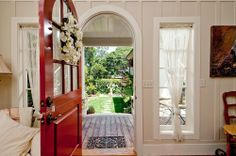 This Dutch door entry has been a popular image, the outside view is nice here too.