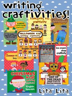 Writing craftivities for every season!