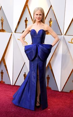 Nicole Kidman in Armani Privé   #Oscars 2018