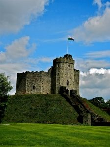 The Keep, Cardiff Castle, Cardiff, Wales