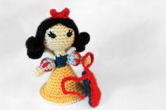 Snow White Princess amigurumi pattern by Sahrit