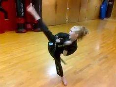 Karate Supergirl - YouTube