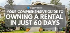Don't say it can't be done before reading this guide! A comprehensive step-by-step tutorial on how to buy and hold a property in just 60 days.