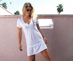 DIY T-Shirt Dress by gail- Pinterest fail - not epic fail but wear to beach, bed & around the house only.