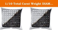 1/10 Total Carat Weight DIAMOND MICRO PAVE EARRING. 1/10 Total Carat Weight DIAMOND MICRO PAVE EARRING.